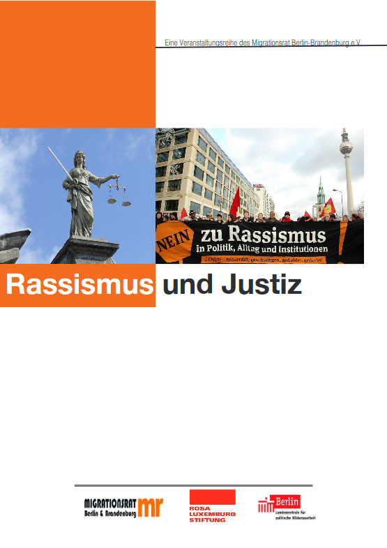 Broschüre: Rassismus & Justiz